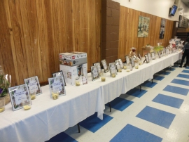 Boys & Girls Club Casino Night Prize Table