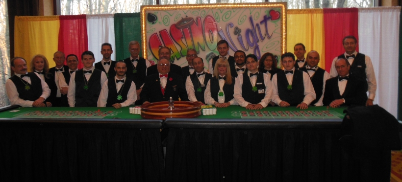 Dealers for Casino Night