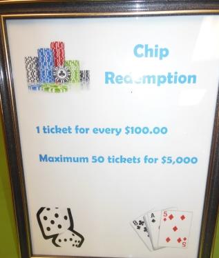 Chip Redemption